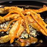 Aiguillettes de poulet à l'orange – Recette autour d'un ingrédient # 1