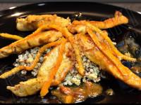 Aiguillettes de poulet à l'orange - Recette autour d'un ingrédient # 1