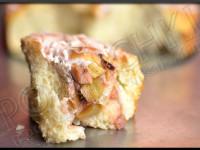Gâteau Roulé Fraises-Rhubarbe