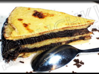 Gâteau de crêpes choco-banane