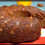 Gâteau aux dattes et oranges confites