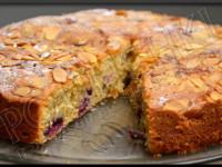 Gâteau aux Amandes et aux  Cerises