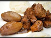 Sauté de Porc aux Échalotes