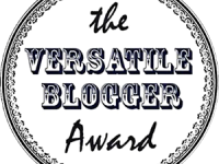 J'ai été taguée…The Versatile Blogger Award