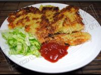Beignets de pommes de terre (Placki ziemniaczane )
