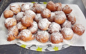 Beignets au fromage blanc Loulou