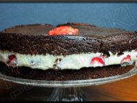 Gâteau Chocolat & Fraises