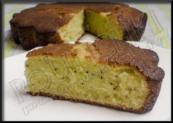 Gateau chocolat kiwi