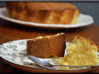 Gâteau au Citron, Vanille, Lait de Coco