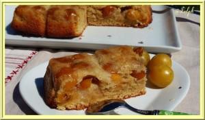 gâteau mirabelles Delphine