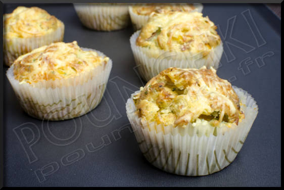 muffins poivrons-oignons