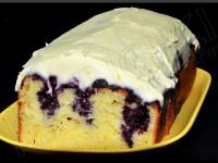 Poke Cake Myrtilles-Citron