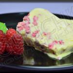 Semifreddo Chocolat blanc – Framboise