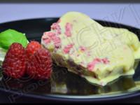 Semifreddo Chocolat blanc - Framboise
