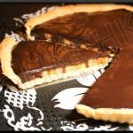 Tarte chocolat & banane