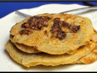 Pancakes à la Banane et aux Pépites de Chocolat
